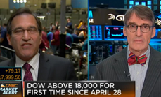 Thumbnail of The stock market is wiser than a legend watching it from CNBC: Squawk Box