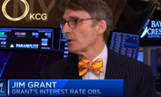 Thumbnail of Jim Grant's telling sign from the Fed from CNBC Closing Bell