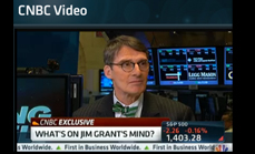 Thumbnail of What's on Jim Grant's Mind? from CNBC with Maria Bartiromo