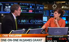 Thumbnail of Very Bullish On Gold from CNBC with Maria Bartiromo