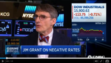 Thumbnail of Jim Grant: We're already in a recession from CNBC: Closing Bell with Denise Garcia